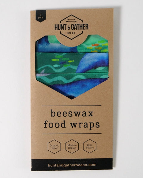 The Fantail House, Made in New Zealand, Beeswax Wraps
