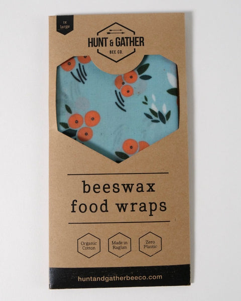 The Fantail House, Made  in New Zealand, Beeswax Wrap, Large
