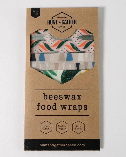 The Fantail House, Made in New Zealand, Beeswax Wraps, Lunch Pack