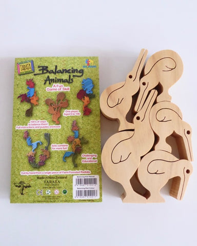 The Fantail House, Made in New Zealand, Children's toys, Wooden toys, Puzzle, Balancing Kiwis, Tarata