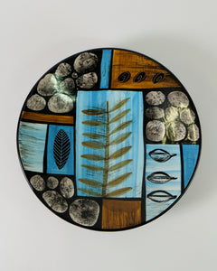 The Fantail House, Made in New Zealand, Ceramic handprinted platter