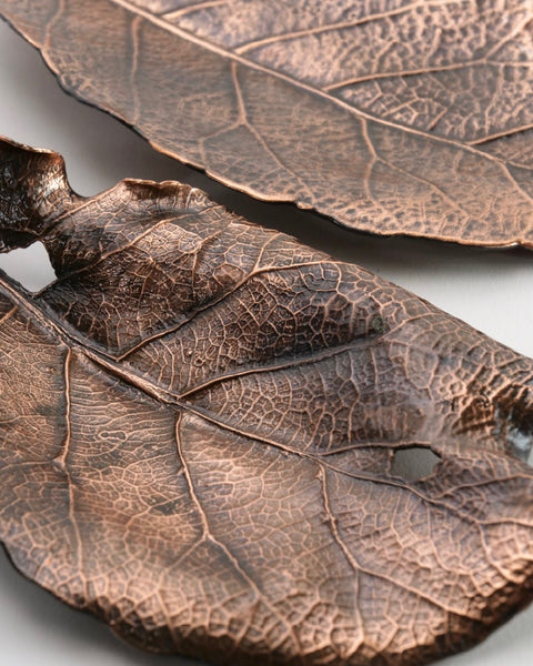 The Fantail House, Copper, Puka Leaves, NZ Made