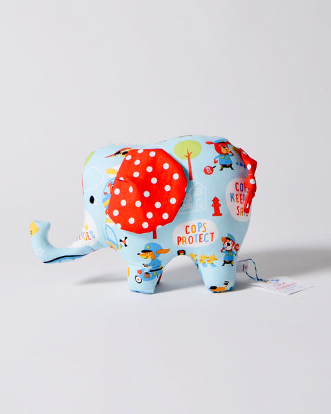 The Fantail House, Made in New Zealand, Handcrafted, Soft Toy, Elephant, Cute Cuddles