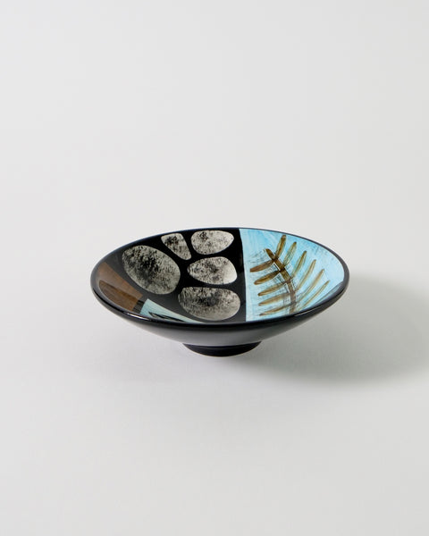 The Fantail House, Made in New Zealand, Hand-painted, Ceramic Bowls