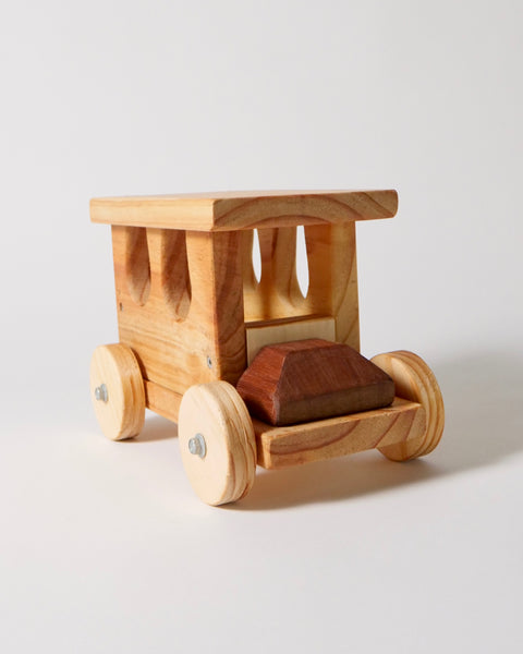 The Fantail House, Made in NZ, Pioneer Toys, Push Truck
