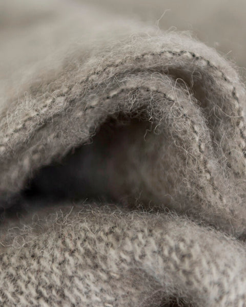 The Fantail House, Made in NZ, Windermere Mohair Throw, Blanket, Paper