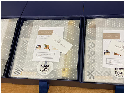 Beyond The Frame Photography Four Sisters Bespoke Luxury Gift Box