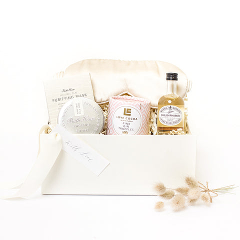 Pretty In Pink Luxury Curated Gift Box - Four Sisters