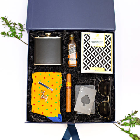 You're The Man - Four Sisters Luxury Curated Gift Box Father's Day