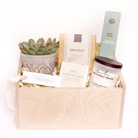 The Pamper Box - Curated Gift Box Four Sisters