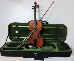 Violin, Intermediate grade, Tiger Grain,  4/4, 3/4, 1/2