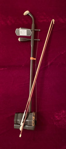 Erhu, Professional Ebony, with Deluxe Hard Case  乐海专业黑檀二胡,送高级硬盒