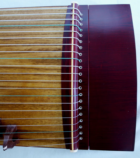 "Guzheng (Koto, Gayagum) Travel size 50"".  21 strings, Free setup & tuned before shipping 古筝, 21弦, 便携式"