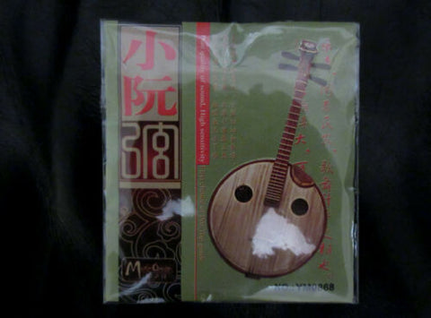 Strings for  Xiao-ruan, whole set (4 pieces)  小阮弦, 一套(4根)