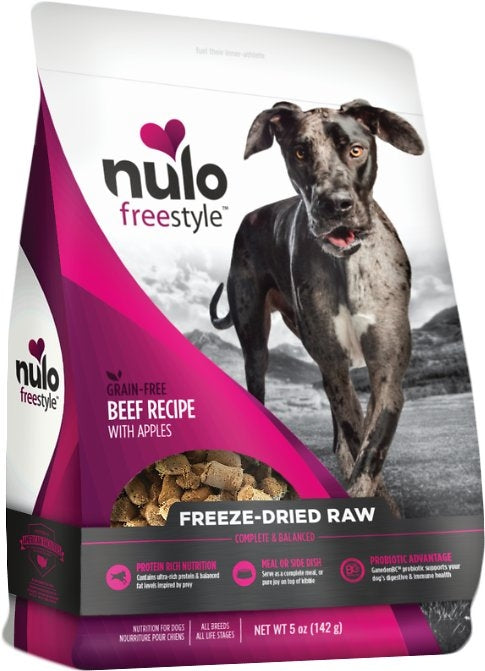 Nulo Freestyle Freeze-Dried Raw Dog Food - Beef & Apple