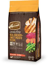 Merrick Grain Free - Real Chicken & Sweet Potato Recipe
