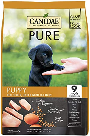 Canidae Grain Free PURE Foundations Puppy Formula with Fresh Chicken