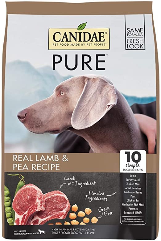 Canidae Grain Free PURE Elements Adult Dog Formula with Fresh Lamb