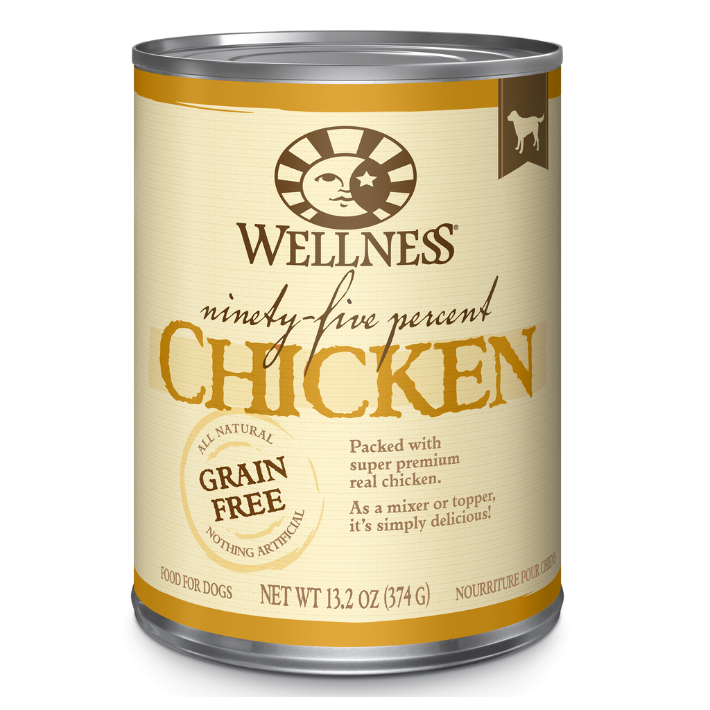 Wellness 95% Chicken & Grain Free Topper For Dogs 13.2oz