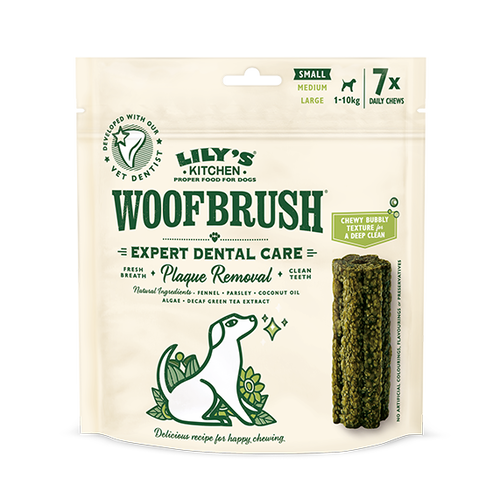 LILY'S KITCHEN Small Woofbrush Dental Chew