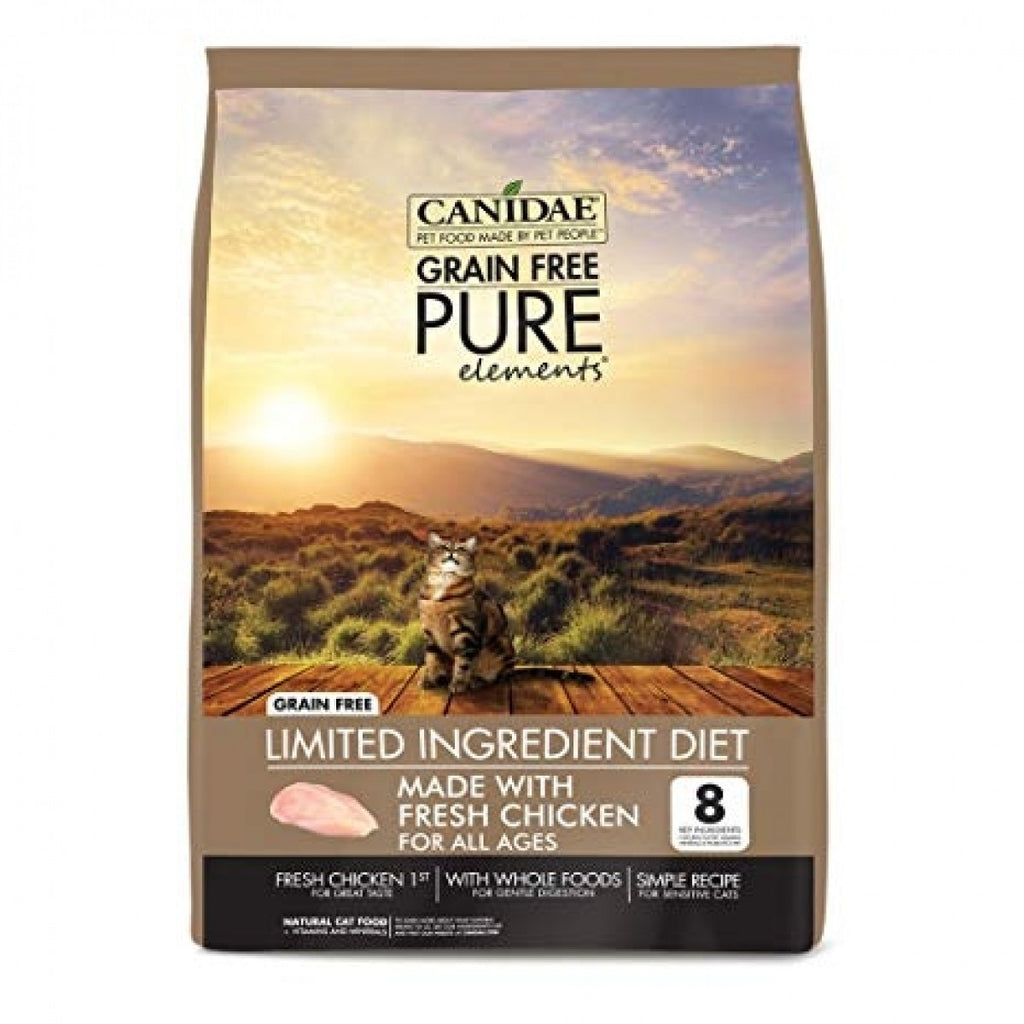 Canidae Grain Free PURE Elements Adult, Kitten & Senior Formula With Fresh Chicken