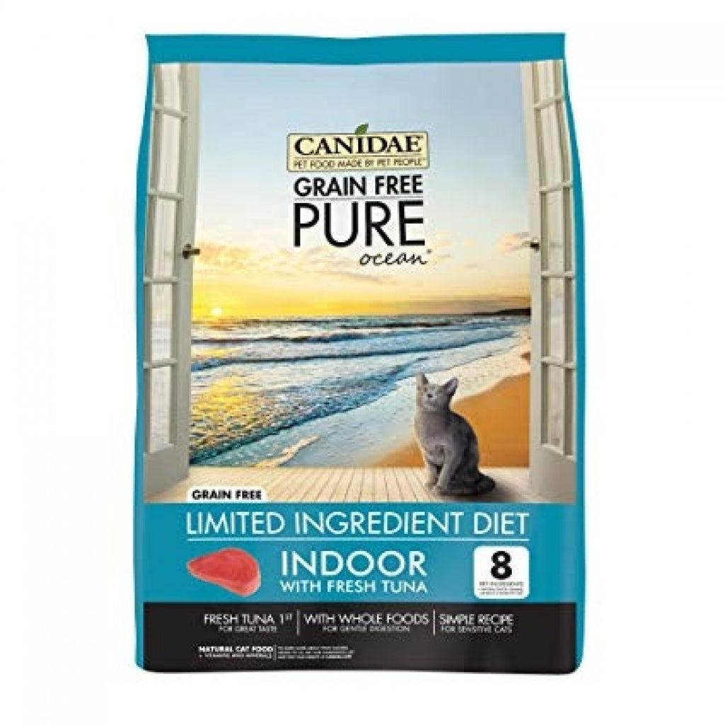 Canidae Grain Free PURE Ocean Indoor Cat Formula With Fresh Tuna