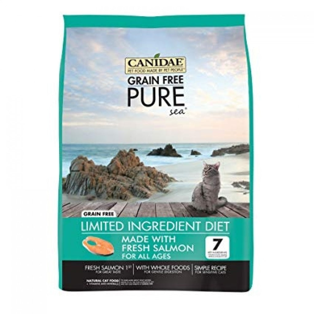 Canidae Grain Free PURE Sea Adult, Kitten & Senior Formula With Fresh Salmon