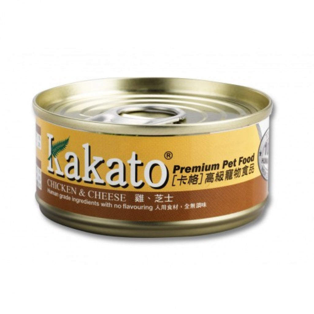 Kakato - Chicken & Cheese (Dogs & Cats) canned