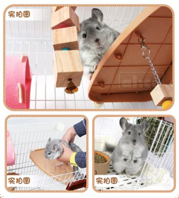 Alice - Chinchio Plus Chinchilla Cage AE152 (Black & White)
