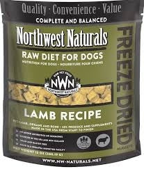 Northwest Naturals Freeze Dried Diets for Dogs - Lamb Recipe 12oz