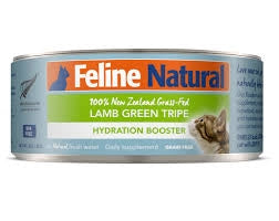 Feline Natural Canned Cat Booster - Lamb Green Tripe 85g
