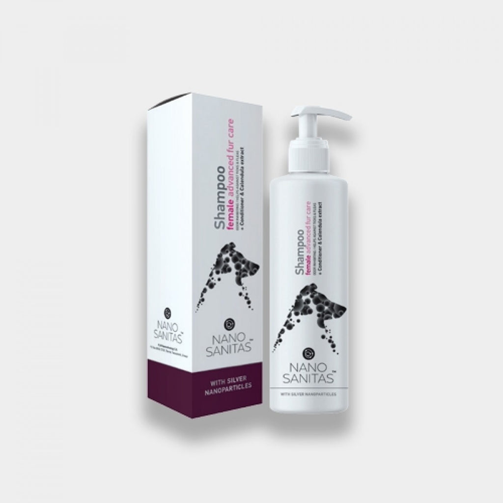 NanoSanitas - Shampoo female advanced fur care 250ml