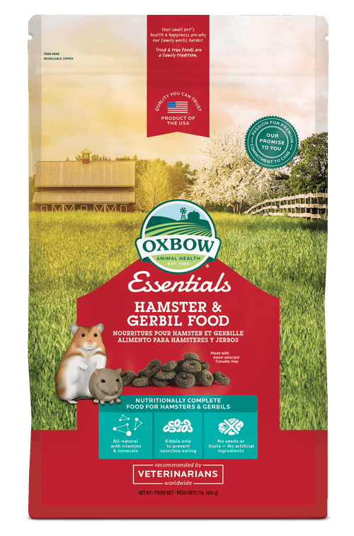 Oxbow - Essentials Hamster & Gerbil Food 1lb