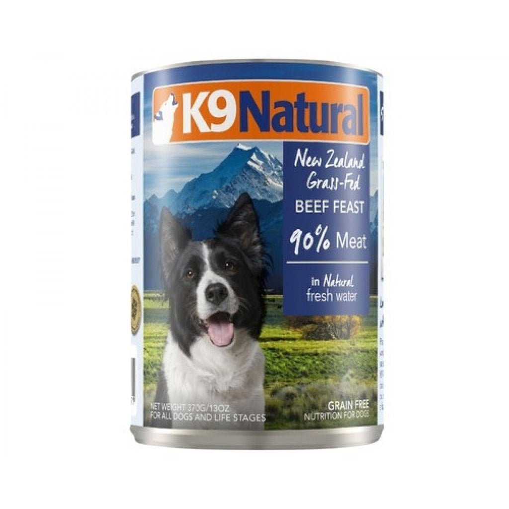 K9 Natural Canned Dog Food - Beef Feast