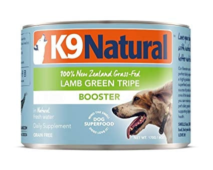 K9 Natural Canned Dog Booster - Lamb Green Tripe 170g