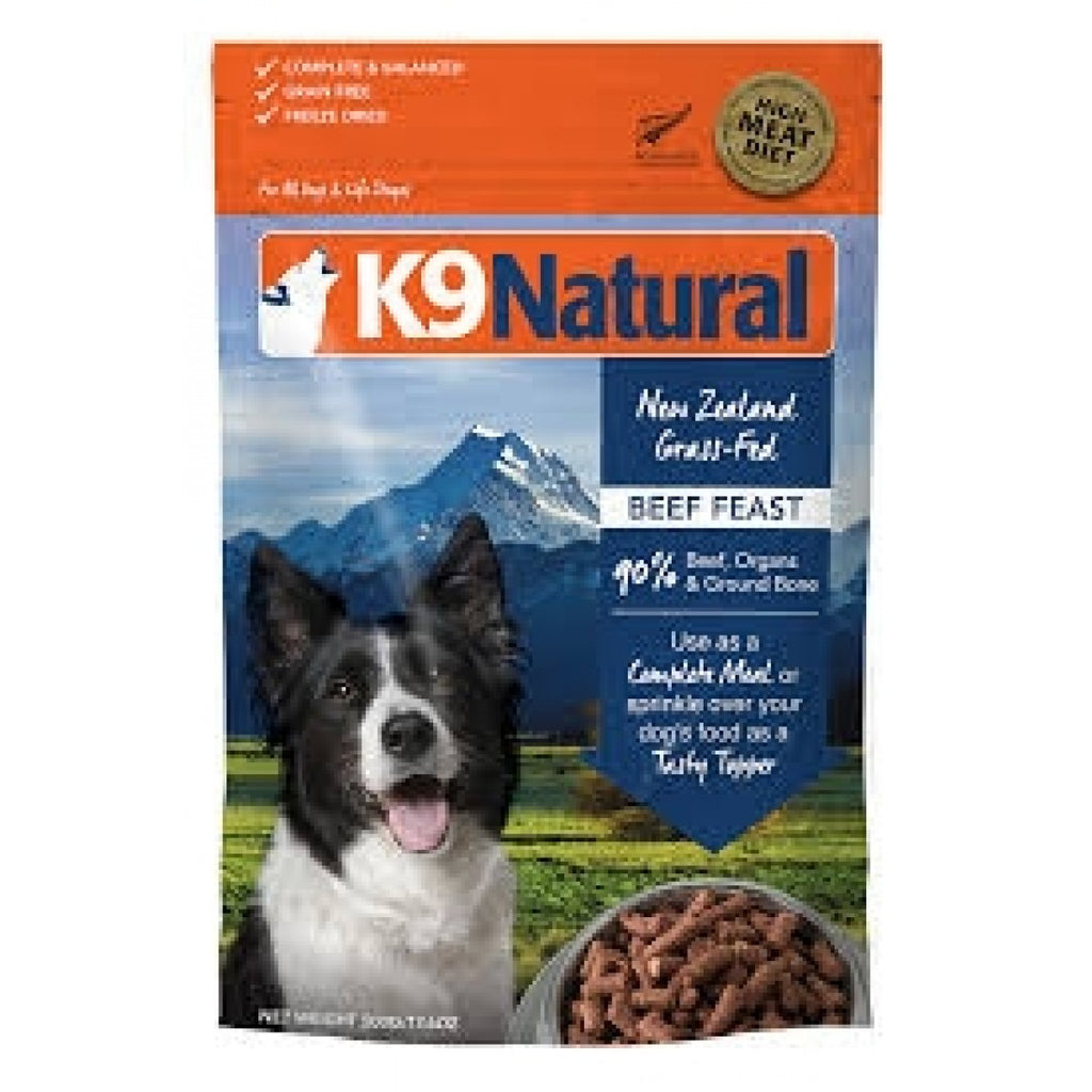 K9 Natural Freeze Dried Dog food - Beef Feast