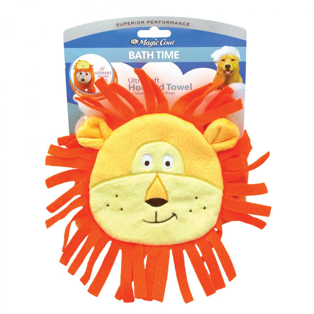 Magic Coat - Ultra Soft Hooded Animal Towel - Lion