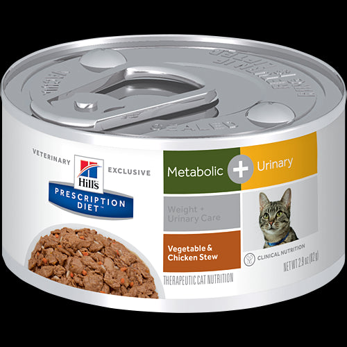 Hill's - Feline Metabolic Plus Canned (Metabolic & Urinary) 2.9oz