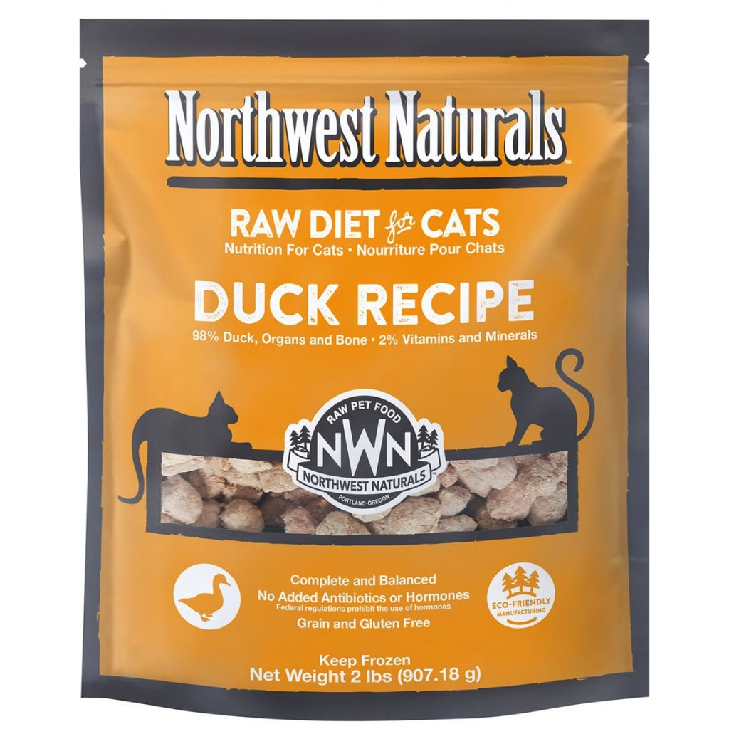Northwest Naturals Freeze Dried Diets for Cats - Duck Recipe