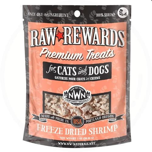 Northwest Naturals Freeze Dried Treats for Dogs and Cats - Shrimp 28.35g
