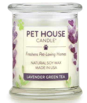 One Fur All Pet House Candle - Lavender Green Tea 8.5oz