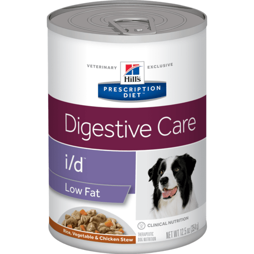 Hill's Prescription Diet - Canine i/d Low Fat Chicken & Vegetable Stew 12.5oz