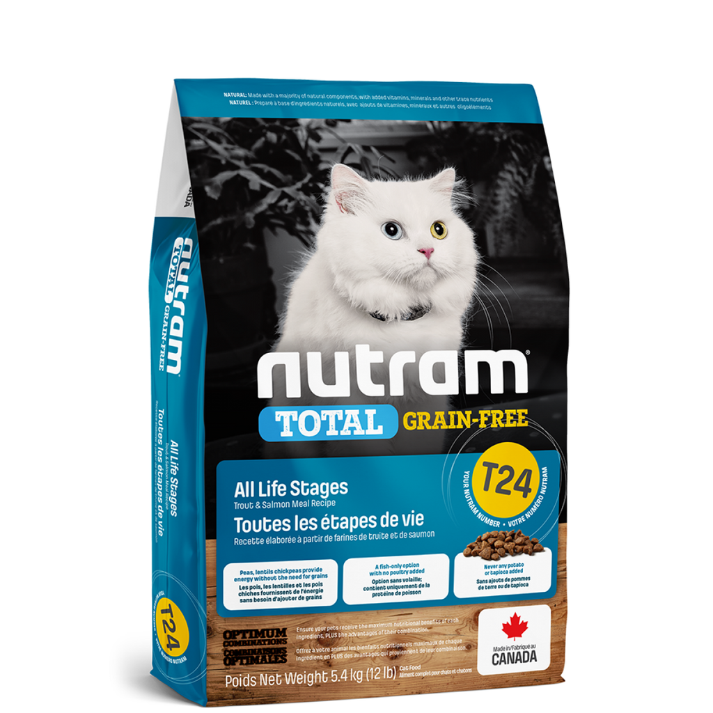 Nutram - Total Grain-Free - Salmon & Trout Recipe (Cats) T24