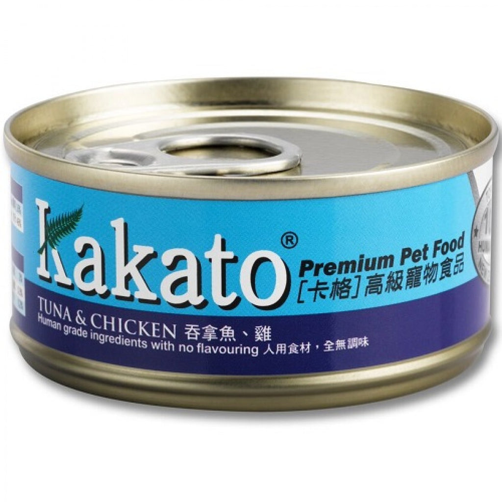 Kakato - Tuna & Chicken (Dogs & Cats) canned