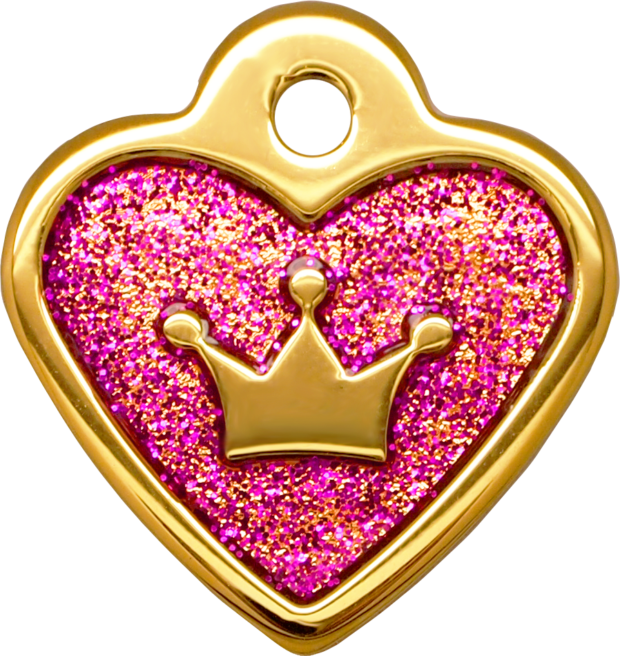 Shiny Glitter Collection - IP Gold Heart