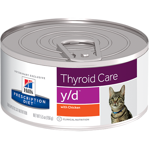 Hill's Prescription Diet - y/d Feline Thyroid Care Canned 5.5oz