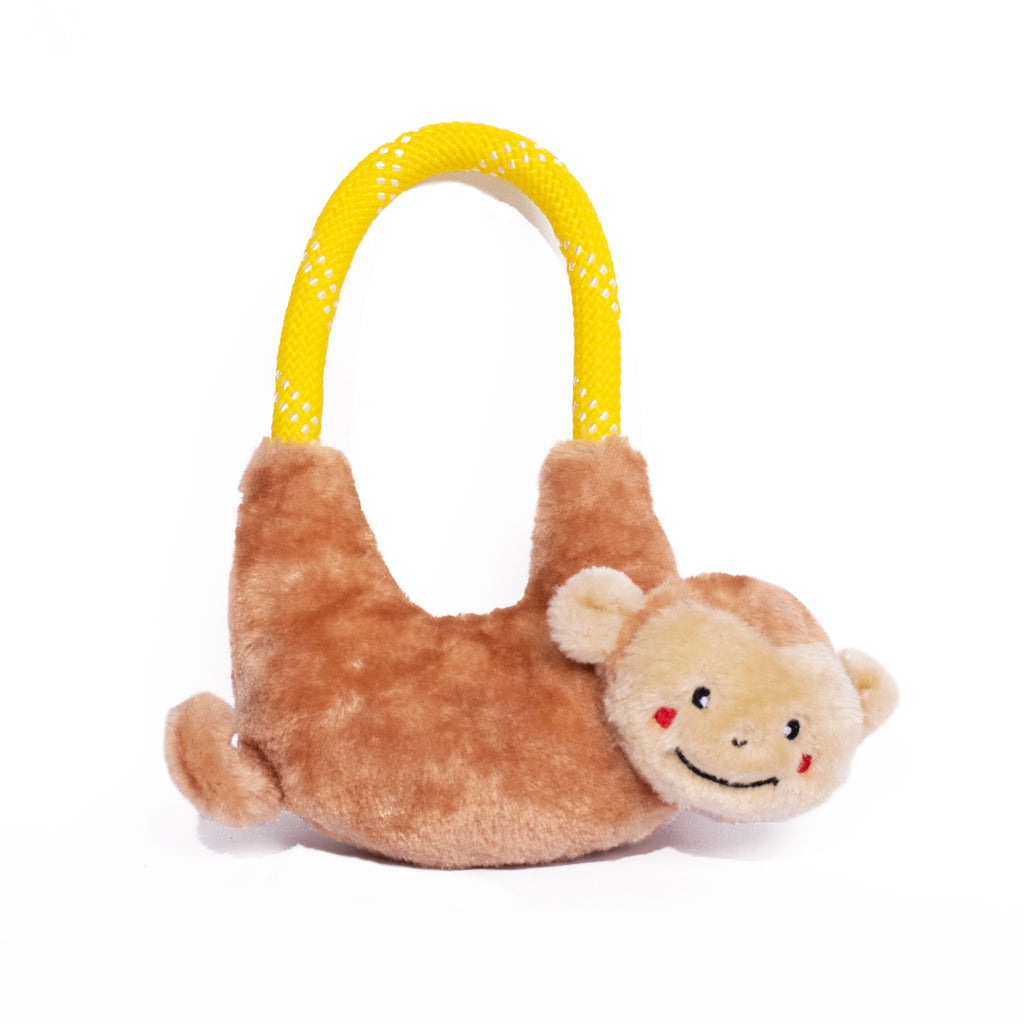 ZippyPaws RopeHangerz - Monkey