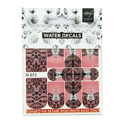 Water Decals Lace N973 Waterdecals