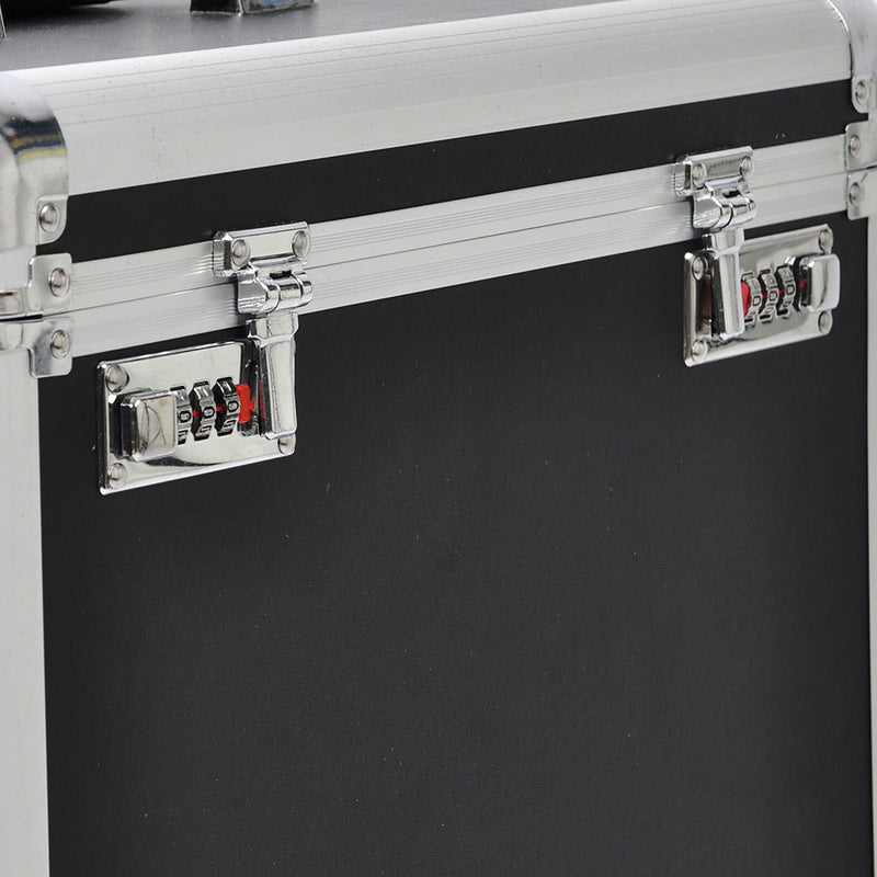 Fuhold Rolling Jewelry Display Case 4 Drawers Travel Makeup Case - byootique-global.com