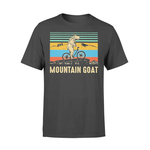 Mountain Goat Ride Bicycle Vintage Shirt L By AllezyShirt